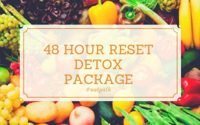 """48H RESET"" Detox package"