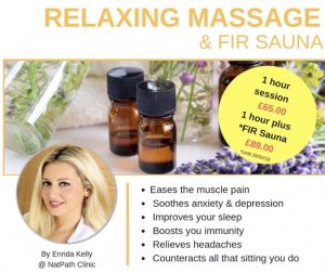 Relaxing massage promotion